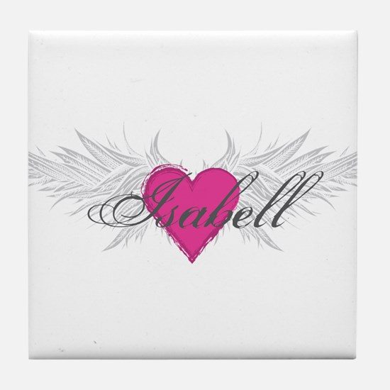 My Sweet Angel Isabell Tile Coaster