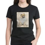 Pomeranian (Orange) Women's Dark T-Shirt