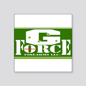 "G Force Firearms Square Sticker 3"" x 3"""