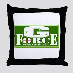 G Force Firearms Throw Pillow