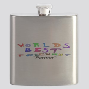 Pregnant Worlds Best PARTNER Flask
