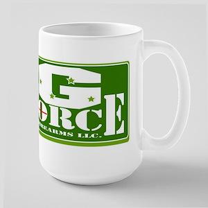 G FORCE MAIN LOGO Large Mug