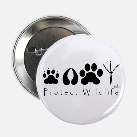 Protect Wildlife Button