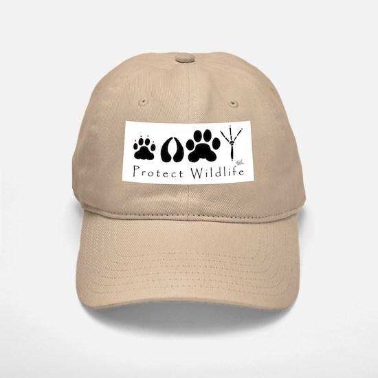 Protect Wildlife Baseball Baseball Cap