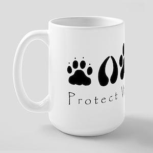 Protect Wildlife Large Mug