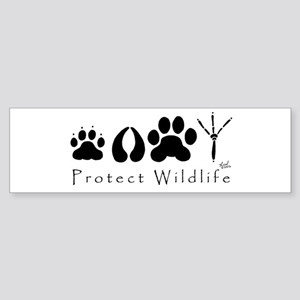 Protect Wildlife Bumper Sticker