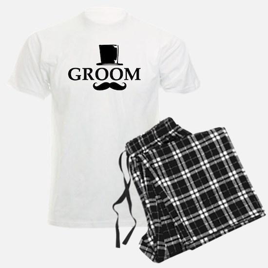 Mustache Groom Pajamas