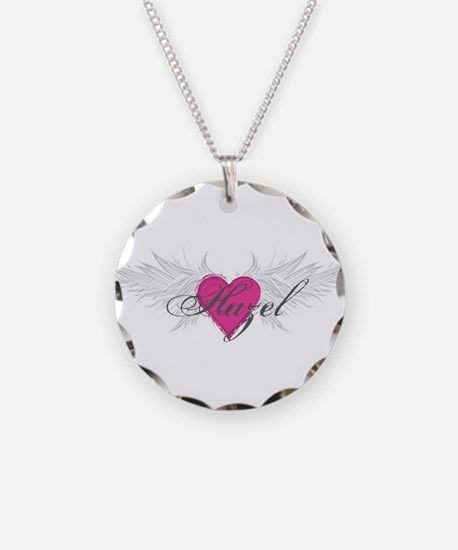My Sweet Angel Hazel Necklace Circle Charm