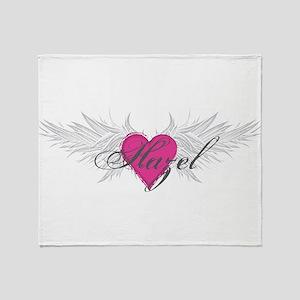 My Sweet Angel Hazel Throw Blanket