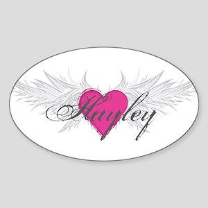 My Sweet Angel Hayley Sticker (Oval)