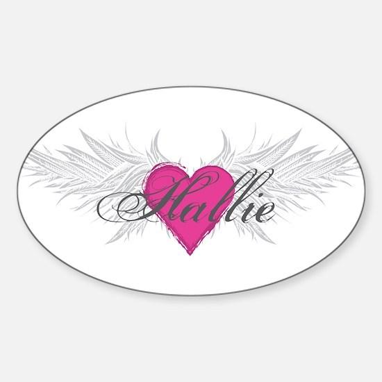 My Sweet Angel Hallie Sticker (Oval)