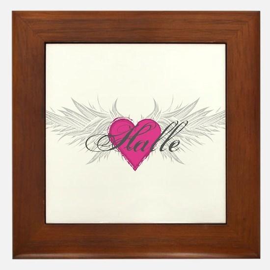My Sweet Angel Halle Framed Tile