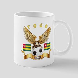 Togo Football Design Mug