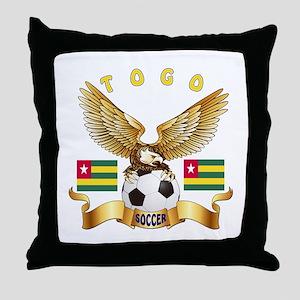Togo Football Design Throw Pillow