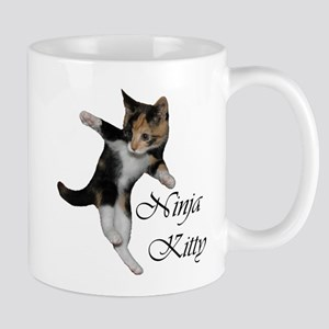 Ninja Kitty Mugs