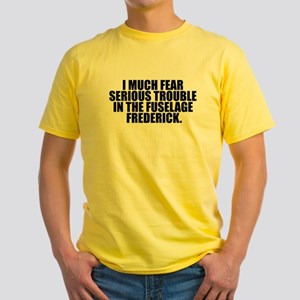 Fuselage Frederick Yellow T-Shirt