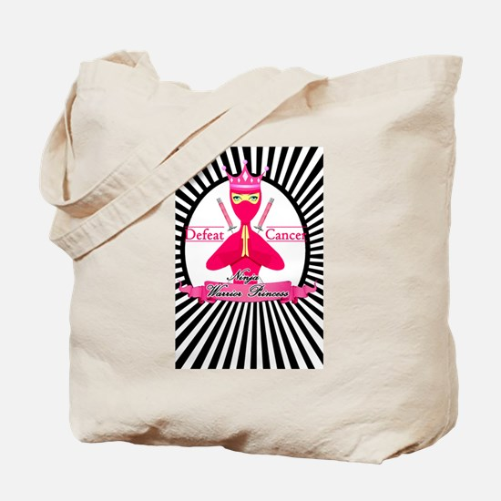 Defeat Cancer Tote Bag