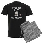 Ill make tea (dark) Men's Dark Pajamas