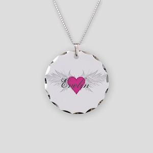 My Sweet Angel Evelin Necklace Circle Charm