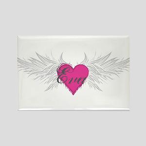 My Sweet Angel Eva Rectangle Magnet