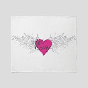 My Sweet Angel Eva Throw Blanket