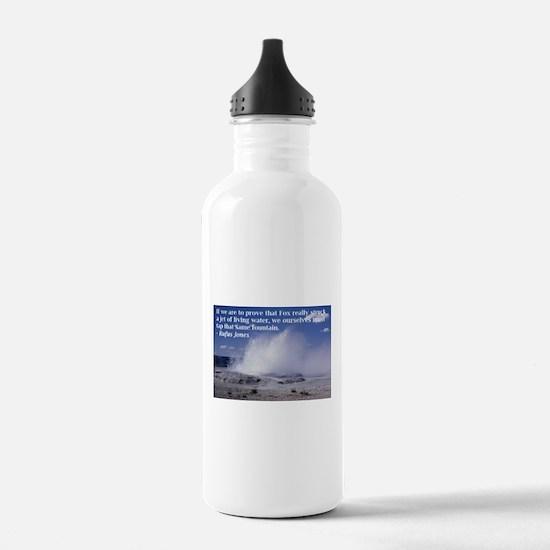Rufus Jones fountain Water Bottle