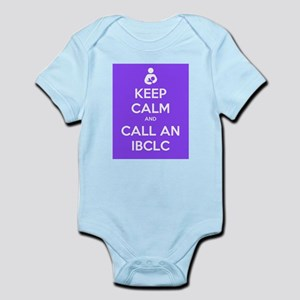 Keep Calm and Call an IBCLC Infant Bodysuit