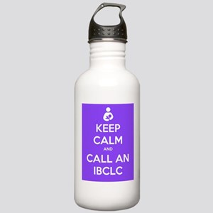 Keep Calm and Call an IBCLC Stainless Water Bottle