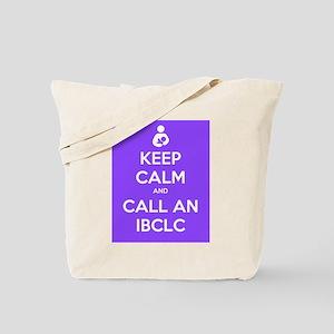 Keep Calm and Call an IBCLC Tote Bag