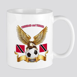 Trinidad and Tobago Football Design Mug