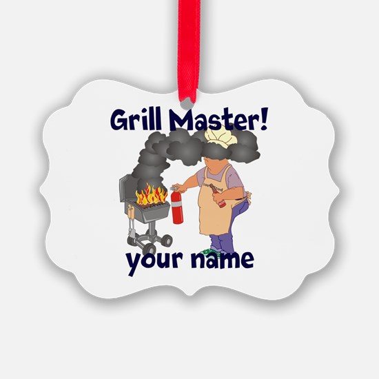 Personalized Grill Master Ornament