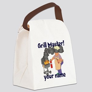 Personalized Grill Master Canvas Lunch Bag