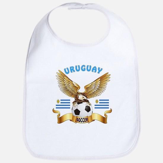 Uruguay Football Design Bib