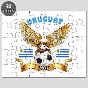 Uruguay Football Design Puzzle