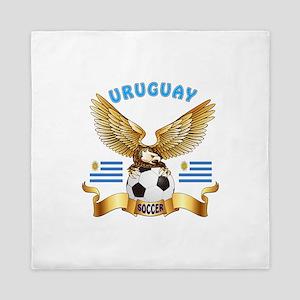 Uruguay Football Design Queen Duvet