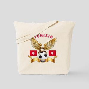 Tunisia Football Design Tote Bag