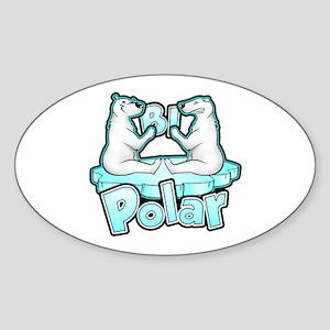 Bipolar Sticker (Oval)
