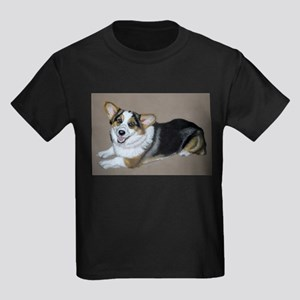 Corgimania Kids Dark T-Shirt