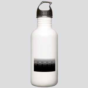 Black And White Paws W Stainless Water Bottle 1.0L