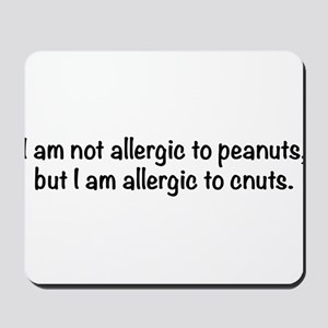 allergy-txtbk Mousepad