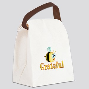 Be Grateful Canvas Lunch Bag