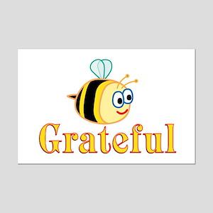 Be Grateful Mini Poster Print
