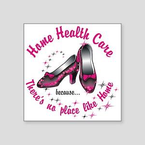 """Home health care Square Sticker 3"""" x 3"""""""