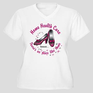 Home health care Women's Plus Size V-Neck T-Shirt