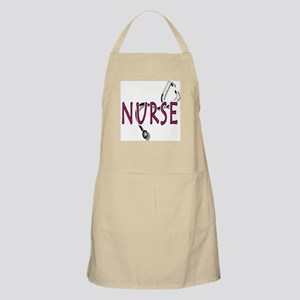 Nurse with stethescope Apron