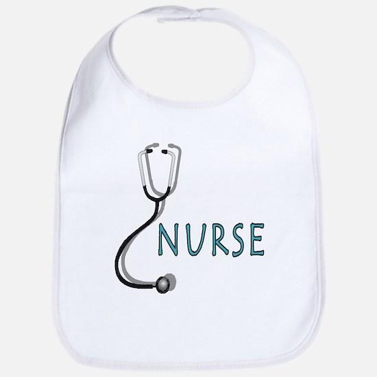 Nurse with stethescope Bib