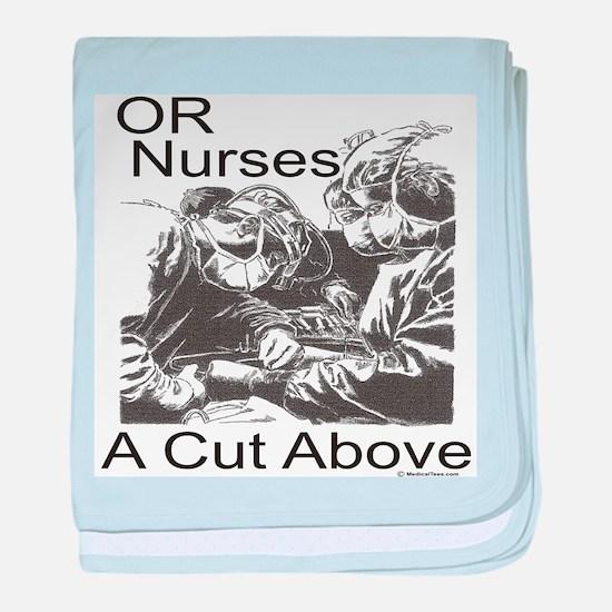 OR Nurses baby blanket