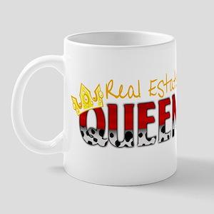 Real Estate Queen Mug
