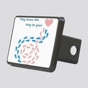 The way to your heart Rectangular Hitch Cover