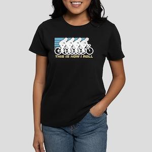 Cycling (female) Women's Dark T-Shirt